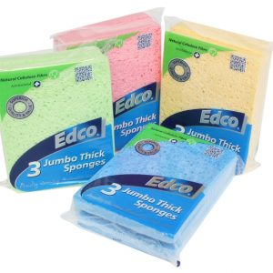 3 Jumbo Thick Sponges Group
