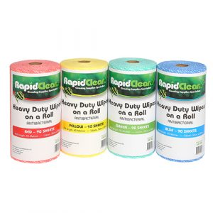 65100 Heavy Duty Wipes On A Roll Group Web