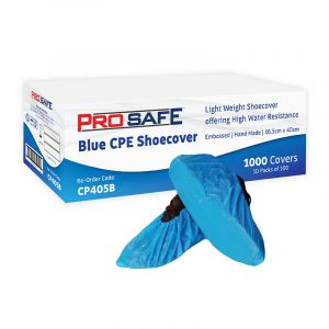 Austar Disposable Shoe Covers Blue