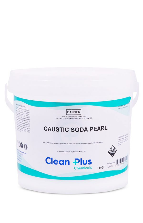 Clean Plus Caustic Soda Pearl 5kg