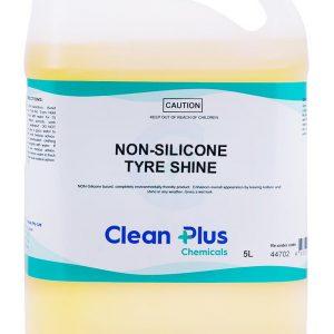 Clean Plus Non Silicone Tyre Shine