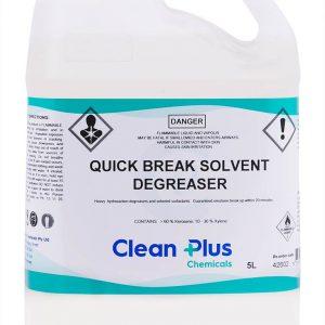 Clean Plus Quick Break Solvent Degreaser 5l