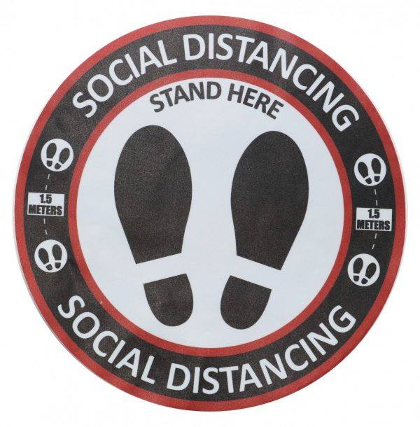Cleanstar Social Distancing Sign