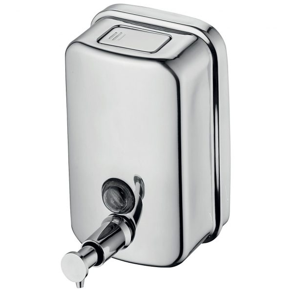 Cleanstar Stainless Steel Soap Dispenser 500ml