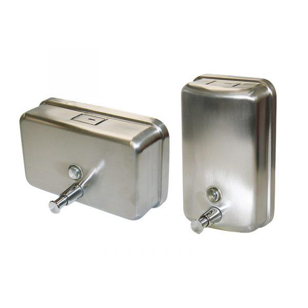 Cleanstar Stainless Steel Soap Dispenser Family