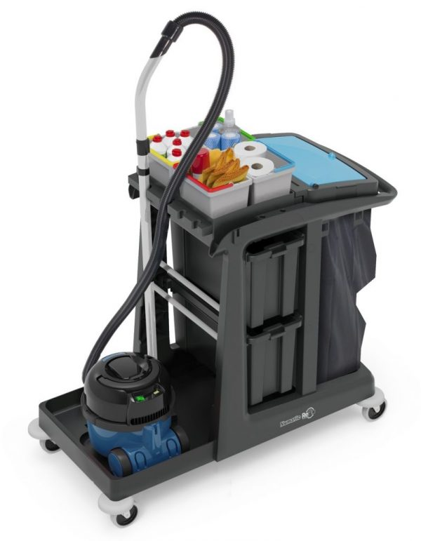 Edco Em5 Ecomatic Cleaning Trolley 1
