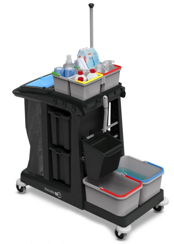 Edco Em5 Ecomatic Cleaning Trolley 2