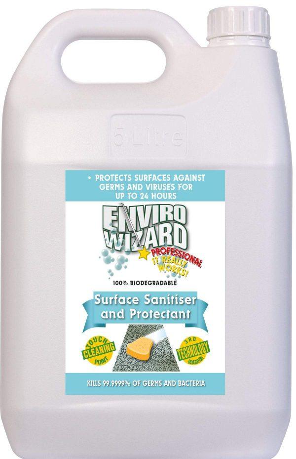 Enviro Wizard Surface Sanitiser 5l