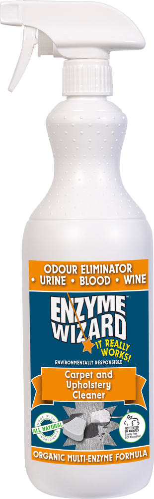 Enzyme Wizard Carpet & Upholstery Cleaner 1l Trigger Pack