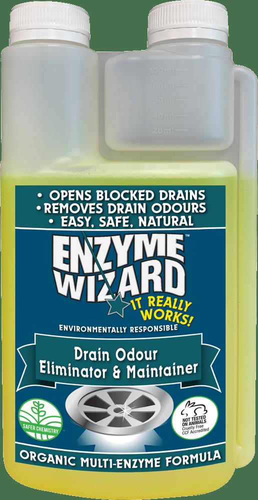 Enzyme Wizard Drain Odour Eliminator & Maintainer 1l
