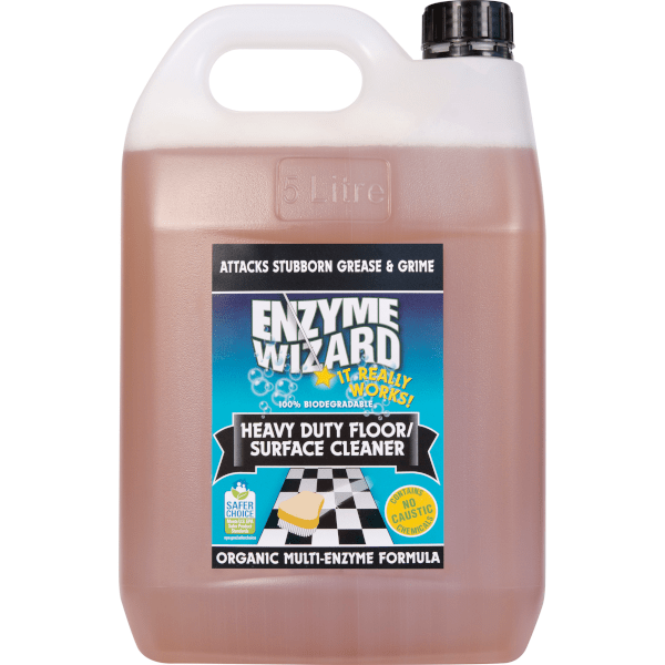 Enzyme Wizard Heavy Duty Floor Cleaner 5l