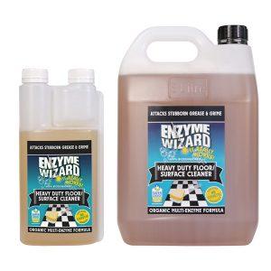 Enzyme Wizard Heavy Duty Floor Cleaner Family