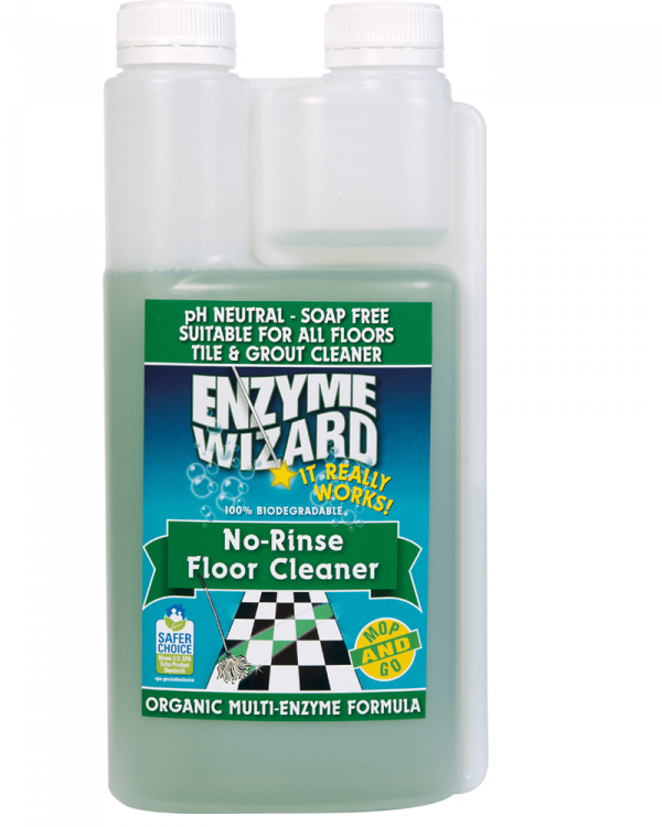 Enzyme Wizard No Rinse Floor Cleaner 1l