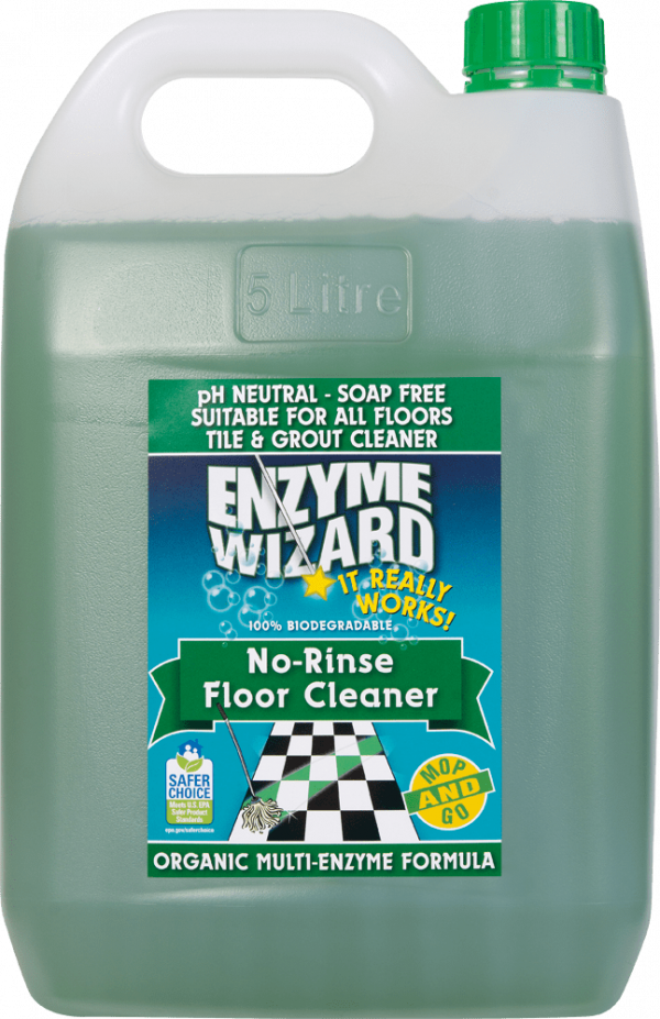 Enzyme Wizard No Rinse Floor Cleaner 5l