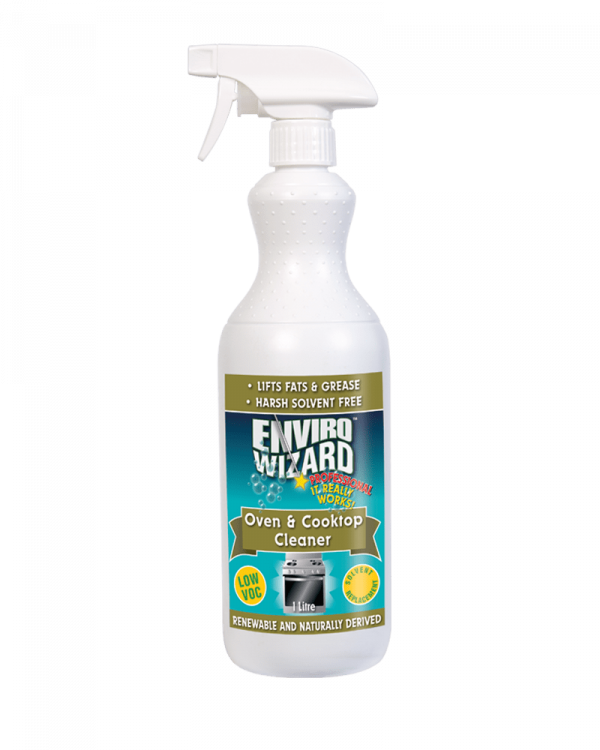 Enzyme Wizard Oven & Cooktop Cleaner 1l Trigger Pack