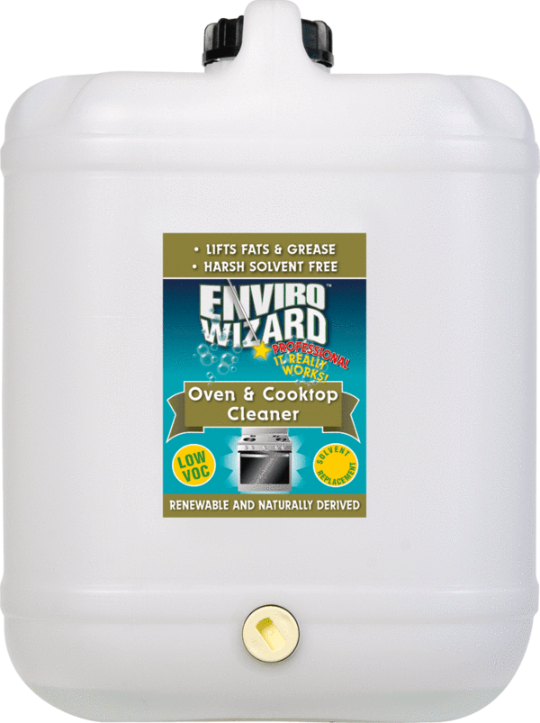 Enzyme Wizard Oven & Cooktop Cleaner 20l