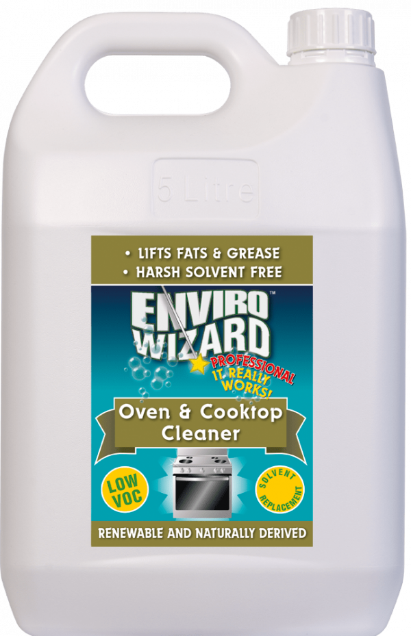 Enzyme Wizard Oven & Cooktop Cleaner 5l