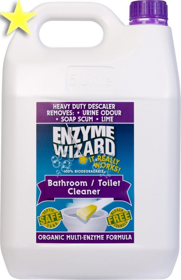 Enzyme Wizard Toilet Bathroom Cleaner 5l