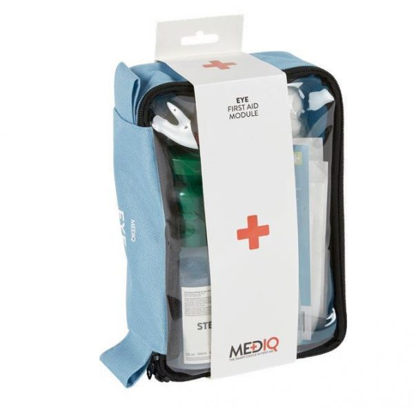 Mediq Eye Compact First Aid Kit Side View