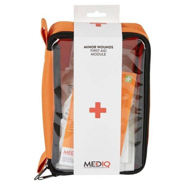 Mediq Minor Wounds First Aid Kit Front View