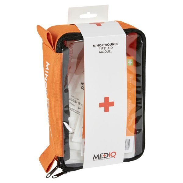 Mediq Minor Wounds First Aid Kit Side View