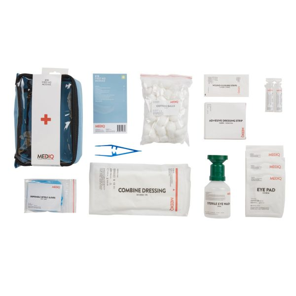 Mediq Eye Compact First Aid Kit Contents