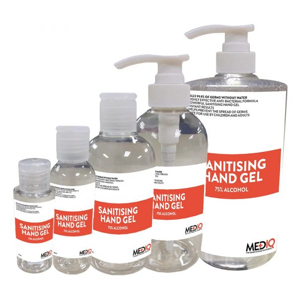 Mediq Sanitising Gel Family
