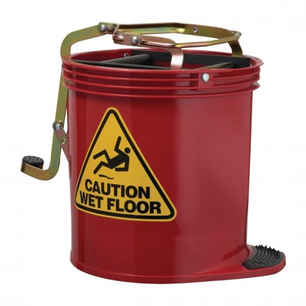 Oates Contractor Mop Bucket Red