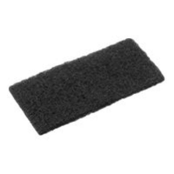 Oates Eager Beaver Floor Pad Black