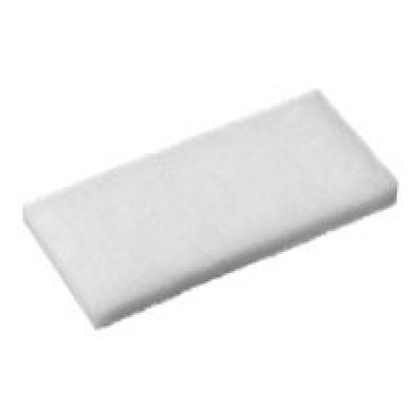 Oates Eager Beaver Floor Pad White
