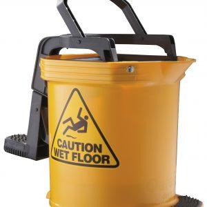 Oats Duraclean Ultra Roller Wringer Bucket Yellow