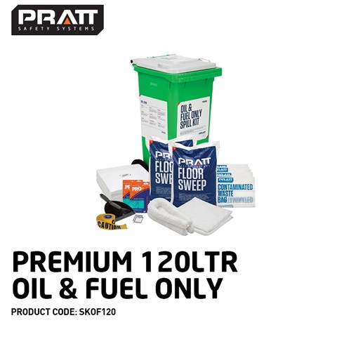 Paramount Spill Kit Oil & Fuel 120l
