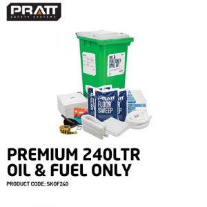 Paramount Spill Kit Oil & Fuel 240l
