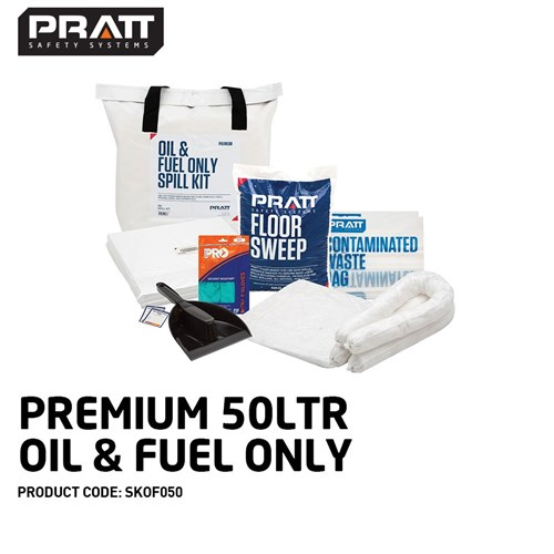 Paramount Spill Kit Oil & Fuel 50l