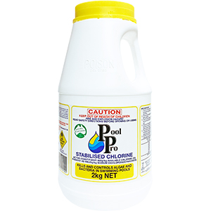 Pool Pro Stabilised Chlorine 2kg
