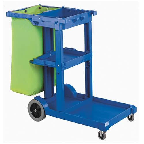 Rapid Clean Janitors Cart