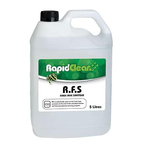 Rapid Clean Rinse Free Sanitiser 5l