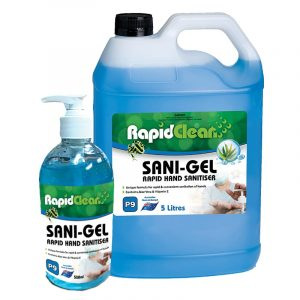 Rapid Clean Sani Gel Family