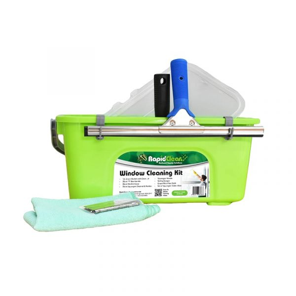 Rapidclean Window Cleaning Kit Set Up