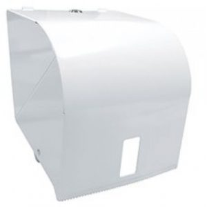 Roll Towel Dispenser White Metal B 500x500