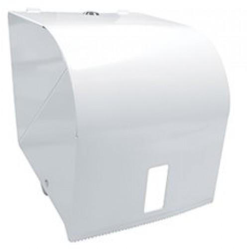 Roll Towel Dispenser White Metal B 500x500