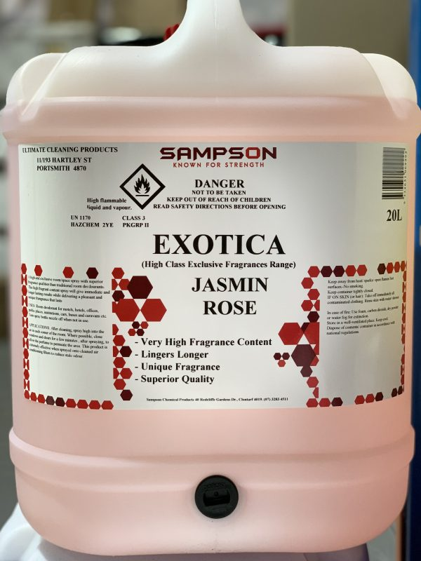 Sampson Exotica Jasmin Rose 20l