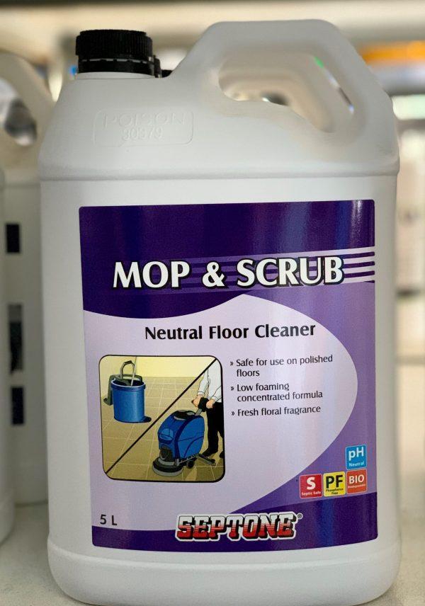 Septone Mop & Scrub 5l