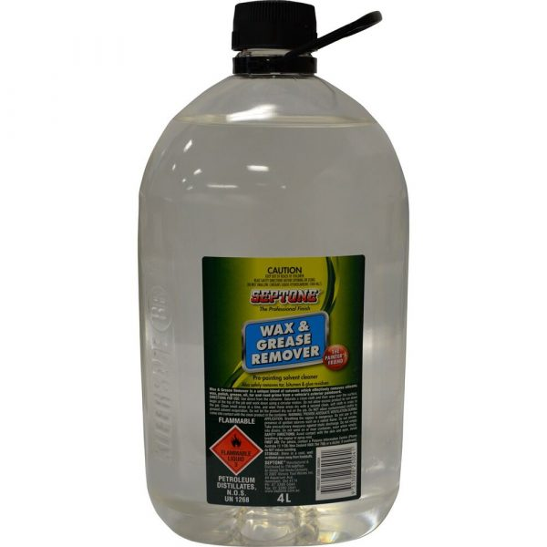 Septone Wax & Grease Remover 4l