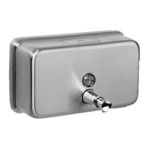 Stainless Steel Soap Dispenser Horizontal 1.1l