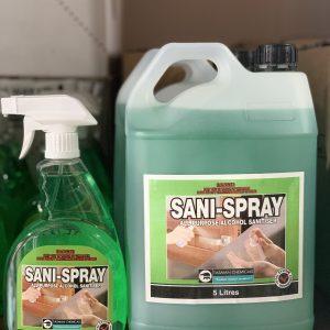 Tasman Sani Spray Family